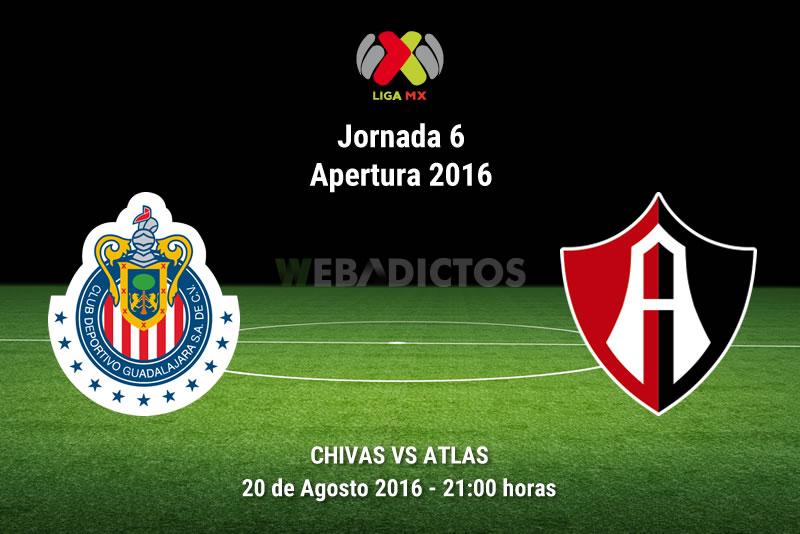 Chivas vs Atlas, Clásico Tapatío A2016 | Resultado: 2-2 - chivas-vs-atlas-jornada-6-apertura-2016