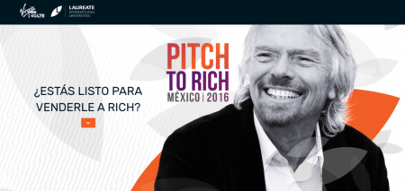 Pitch To Rich: Richard Branson convoca a jóvenes emprendedores mexicanos