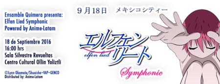 Elfen Lied Symphonic busca atraer la confianza de empresas japonesas creadoras de contenido a Latinoamérica