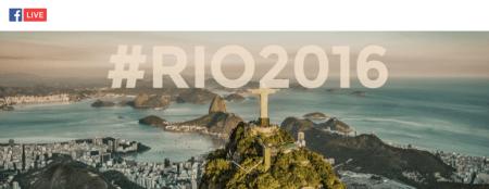 Sigue a los atletas en Río 2016 desde Facebook Live
