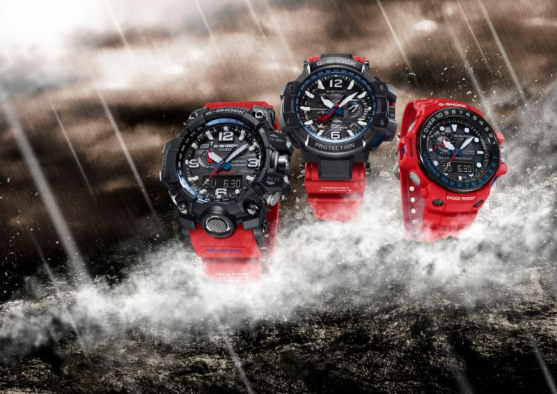 Nueva serie Rescue Red de la línea Master of G de G-Shock - linea-master-of-g-rescue-red-800x566
