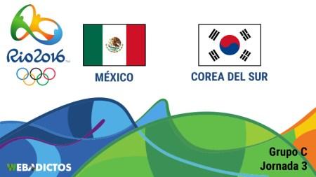 México vs Corea del Sur, Juegos Olímpicos de Río 2016 | Resultado: 0-1 (Ve la repetición)