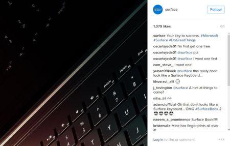 Aparece un supuesto teaser de la Surface Book 2