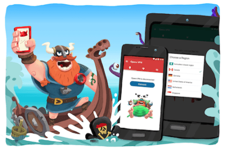 Opera VPN llega a Android
