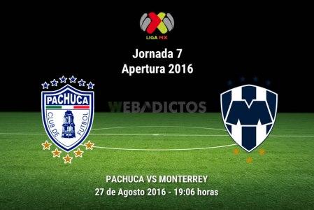 Pachuca vs Monterrey, Jornada 7 del Apertura 2016 ¡En vivo por internet!