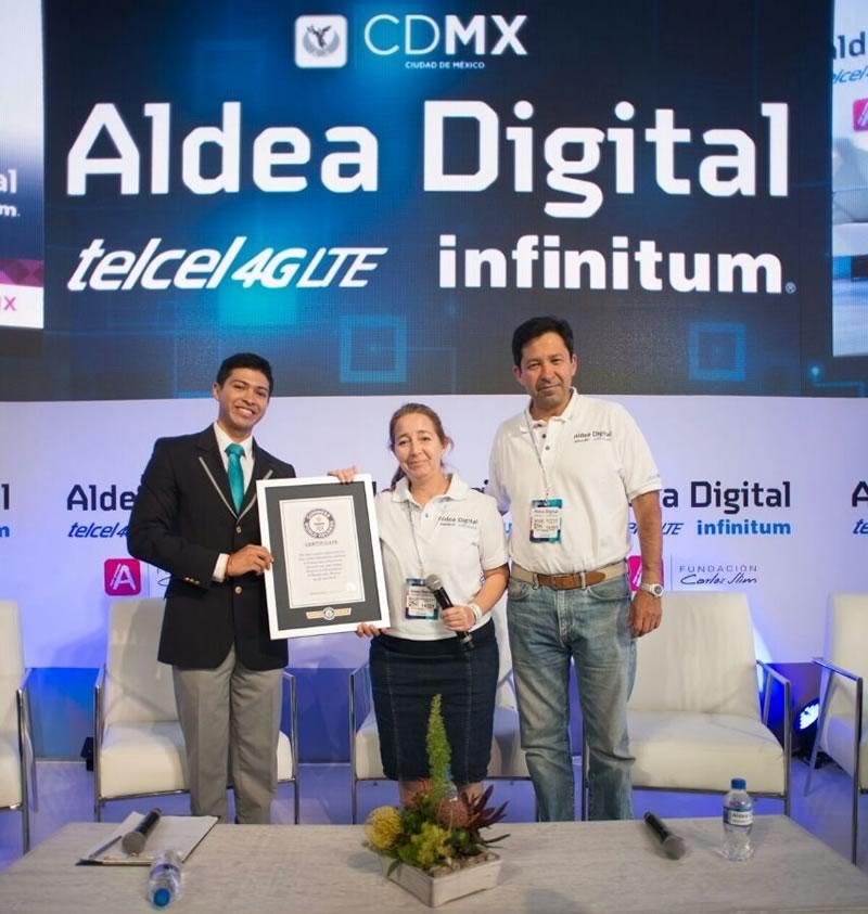 Aprende.org recibe Récord Guinness por el mayor número de personas registradas en la plataforma educativa - record-guinness-aprende-org