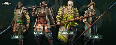 For Honor revela su alineación completa de héroes y modos multijugador - ubisoft-for-honor-2