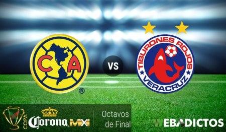 América vs Veracruz, Copa MX Apertura 2016 | Resultado: 1-0