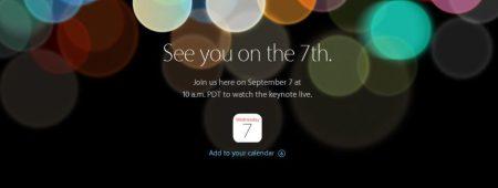 Sigue la keynote de Apple en vivo y por internet (presentación del iPhone 7)