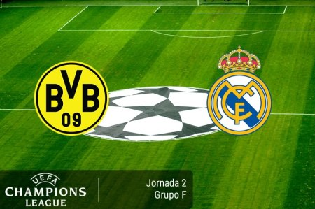 Borussia Dortmund vs Real Madrid, Champions 2016/2017 ¡En vivo por internet!