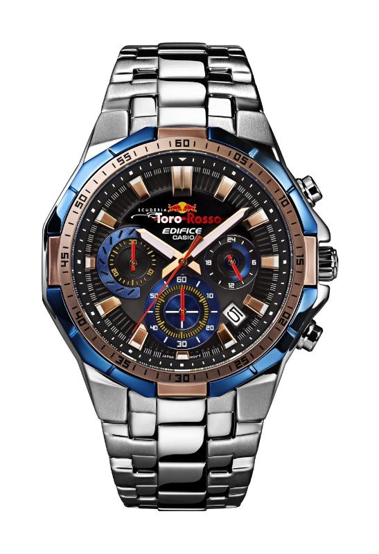 Casio presenta el primer reloj de su asociación con la Scuderia Toro Rosso - edifice_casio-547x800