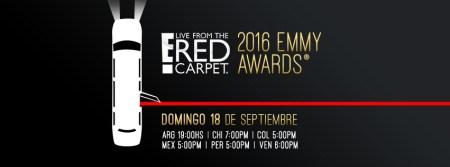 Premios Emmy 2016: «En vivo desde la alfombra roja» cobertura especial E!