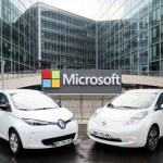 Alianza Renault-Nissan y Microsoft se asocian para crear el futuro de la conducción conectada