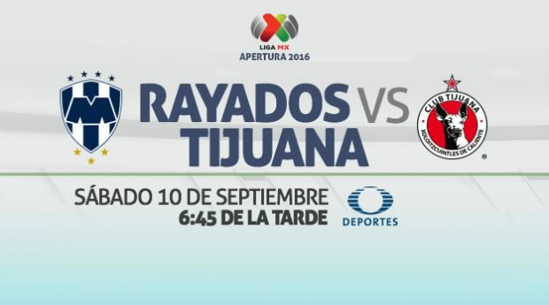 Monterrey vs Tijuana, Jornada 8 del Apertura 2016 | Resultado: 0-0 - monterrey-vs-tijuana-apertura-2016-en-vivo