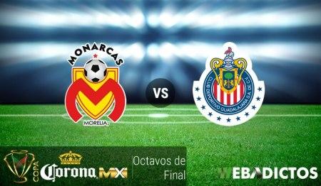 Morelia vs Chivas, Copa MX Apertura 2016 ¡En vivo por internet! | Octavos de final