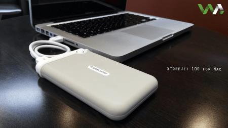 Disco duro portátil StoreJet 100 para Mac Transcend 2TB [Review]