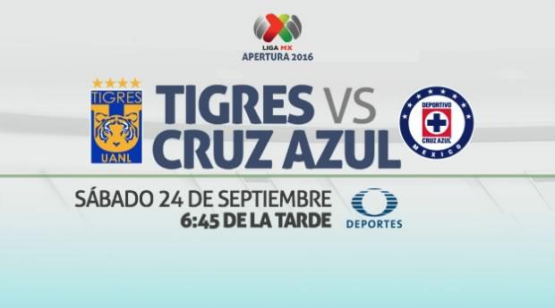 Tigres vs Cruz Azul, Fecha 11 del Apertura 2016 | Resultado: 0-0 - tigres-vs-cruz-azul-en-vivo-j11-apertura-2016