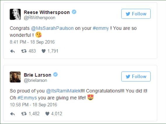 Cómo se vivieron los #Emmy 2016 en Twitter - twitteando-emmy_3