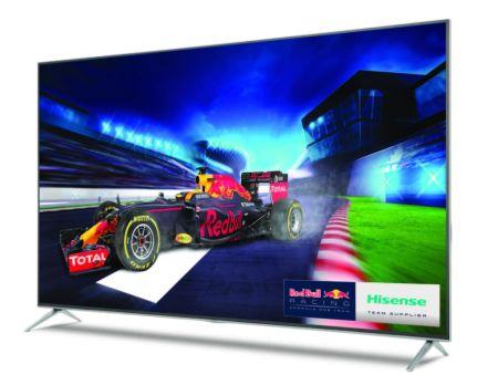 Hisense presenta su nueva serie H8 de Smart TV's
