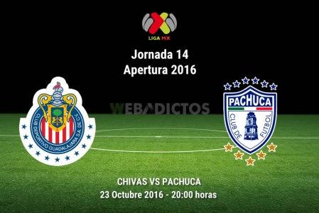 Chivas vs Pachuca, Jornada 14 del Apertura 2016 | Resultado: 1-2