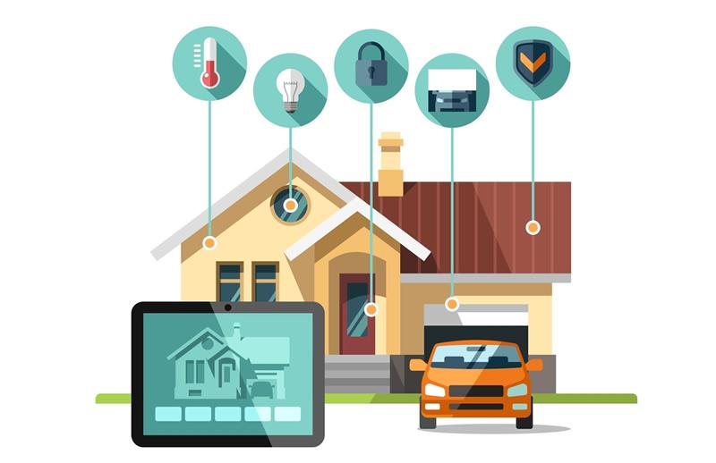 Automatizaci n de hogar dom tica centro de ayuda - Trasformare una casa in domotica ...