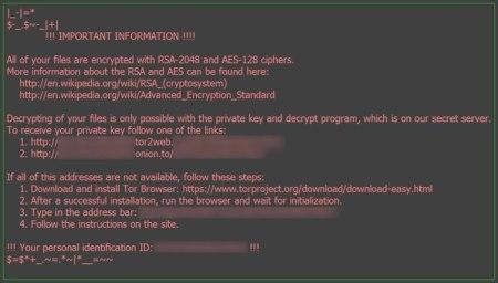 Llegó 'odín', la nueva versión del ransomware 'locky'