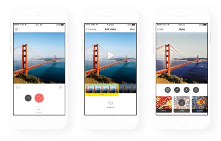 Prisma añade filtros para video