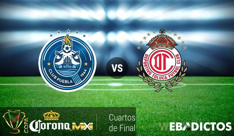 Puebla vs Toluca, Copa MX Apertura 2016   Resultado: 0-2 - puebla-vs-toluca-cuartos-de-copa-mx-apertura-2016