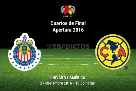 Chivas vs América, Cuartos de Final A2016 | Resultado: 0-1