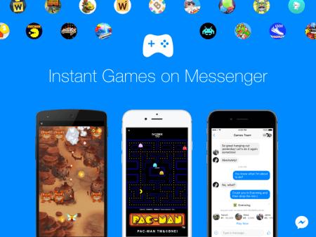 Facebook Messenger ahora incluye juegos