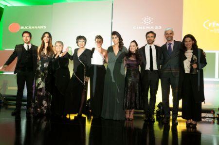 Entrega Premio Buchanan's a la Grandeza del Cine Mexicano