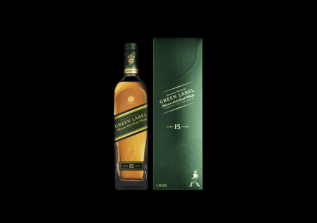 Johnnie Walker Green Label, está oficialmente de regreso en México