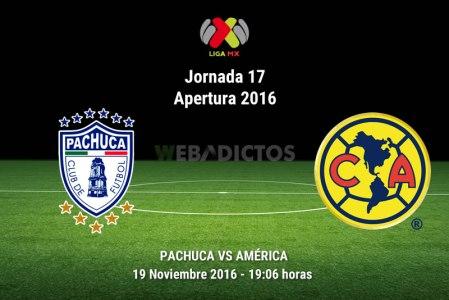 Pachuca vs América, Jornada 17 Apertura 2016 | Resultado: 3-3