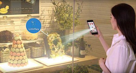 Panasonic presenta LinkRay, tecnología que combina el uso de frecuencias de luz LED