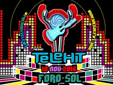 Los artistas confirmados para la novena entrega de Premios Telehit 2016