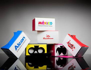 Firma mexicana de realidad virtual conquista Europa y Estados Unidos - cardboardspersonalizados