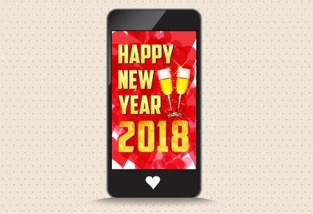 Frases de año nuevo 2018 en tu celular con estas apps