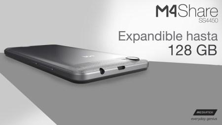 M4 y Mediatek lanzan el smartphone M4Share SS4450 4G LTE