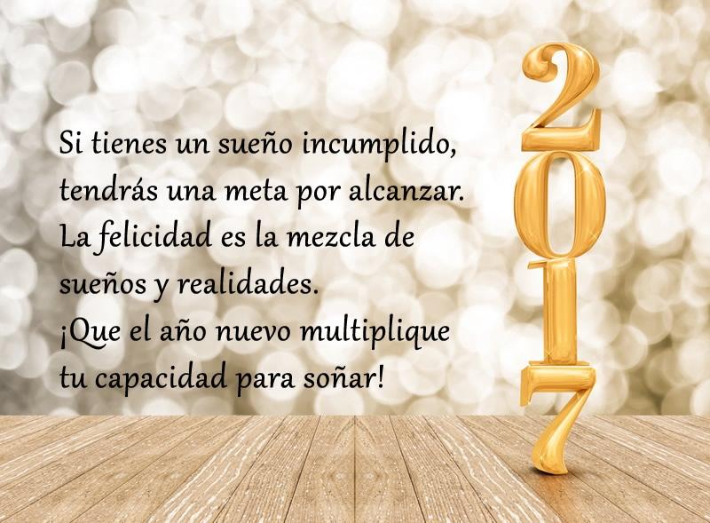 Frases De Año Nuevo 2017 Para Desear Feliz Año A Tus Seres