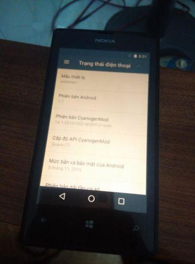 Nokia Lumia 520 logra correr Android 7.1 Nougat - nokia-l-520-nougat1
