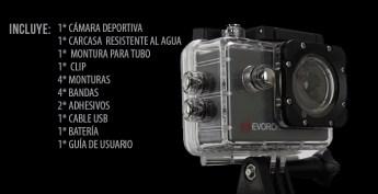 Evorok lanza su segunda generación de cámaras deportivas - camara-deportiva-travel-ii_0