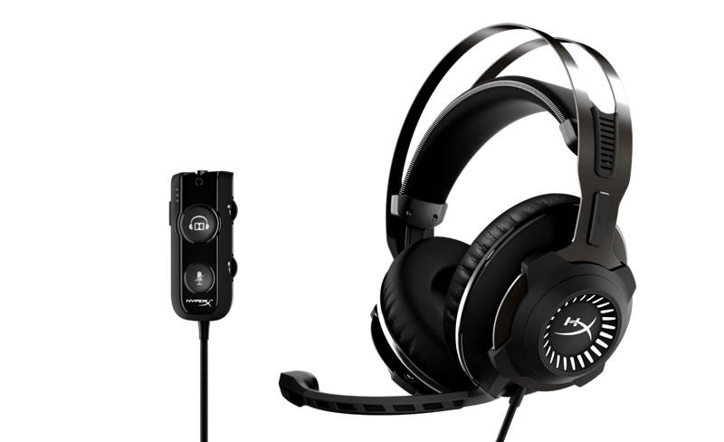 Hyper X lanza el audífono Cloud Revolver S el primero con  sonido Dolby Surround-Plug and Play - hyperx-cloud-revolver-s