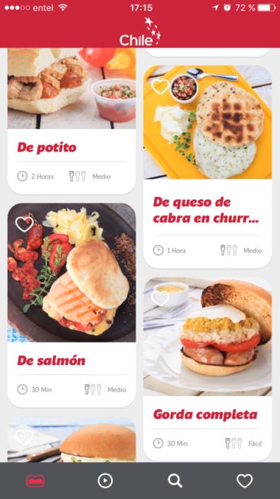 Chile Sandwiches, la app con los clásicos de la gastronomía Chilena - imagen-de-chile-6