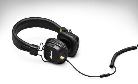 Marshall lanza los audífonos: Major II On Ear Black