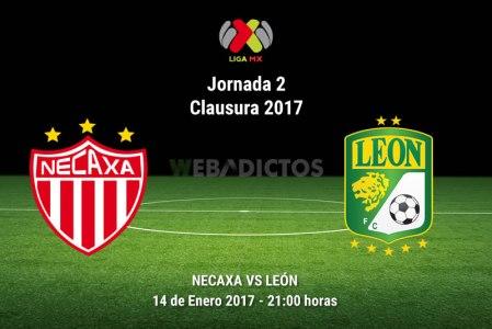 Necaxa vs León, Jornada 2 del Clausura 2017 | Resultado: 0-1