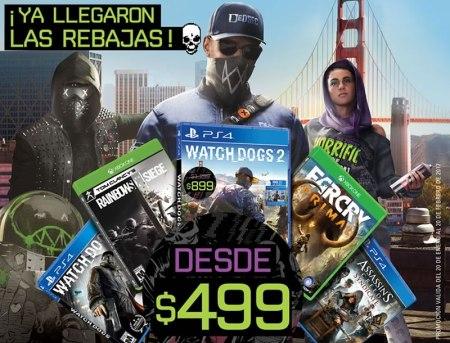 Watch Dogs y otros juegos de Ubisoft en oferta ¡Aprovecha!