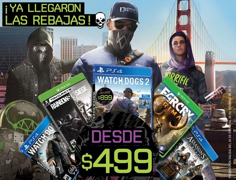 Watch Dogs Y Otros Juegos De Ubisoft En Oferta Aprovecha