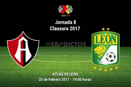 Atlas vs León, Jornada 8 Clausura 2017 ¡En vivo por internet!
