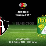 Atlas vs León, Jornada 8 Clausura 2017 ¡En vivo por internet!