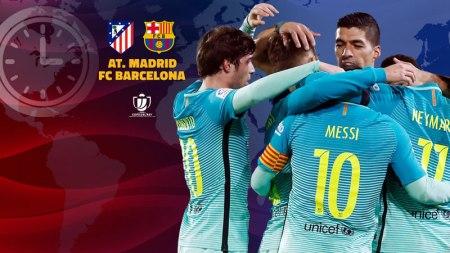 Atlético de Madrid vs Barcelona, Semifinal Copa del Rey 2017 | Resultado: 1-2